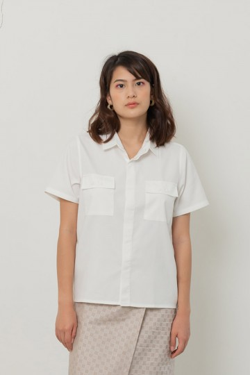 White Gravity Shirt PO