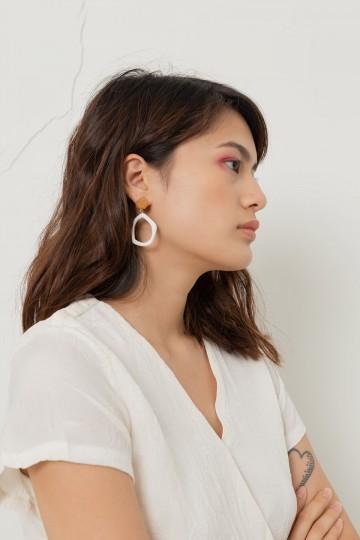 Wood Paculiar Earrings