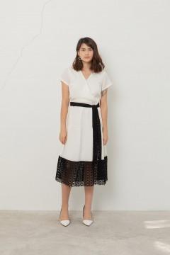 Ivory Nebula Dress