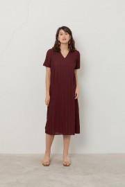 Maroon Spectra Dress