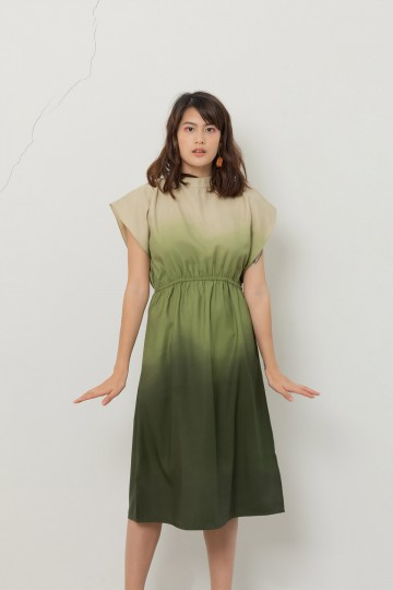 Ombre Cosmos Dress