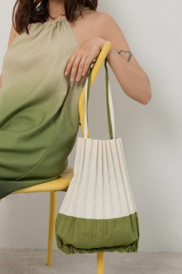 Pleated Bayron Bag