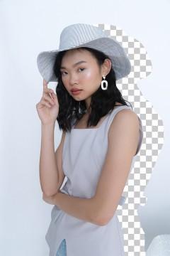 Stripes de Lisle Hat