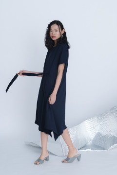 Navy Natural Dress
