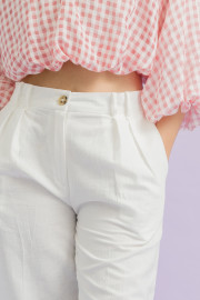White Mistral Pants
