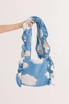 Cloud Ruffled Bag