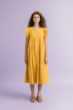 Mustard Sicili Dress