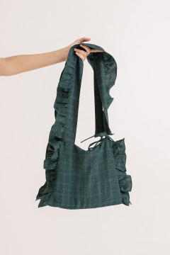 Forest Ruffled Bag