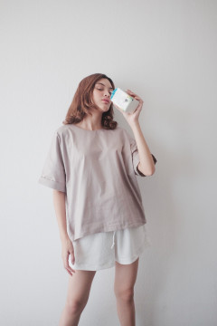 Taupe Chill Top