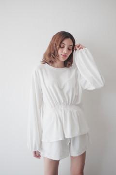 White Daily Sweater