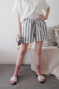 Stripes Casual Shorts