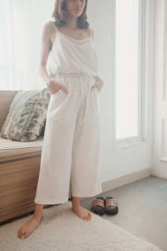 White Energy Pants