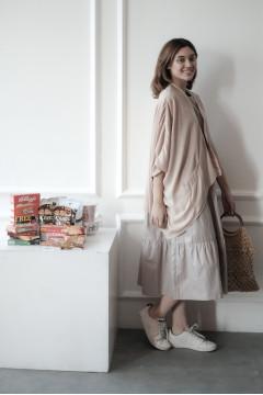 Latte Caspian Kimono