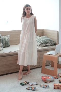 Ivory Resort Dress