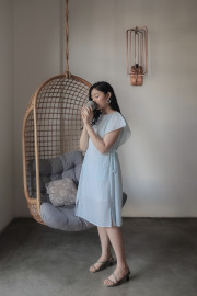 Cyan Heju Dress