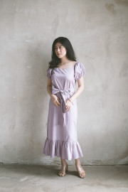 Lilac Nouvel Dress