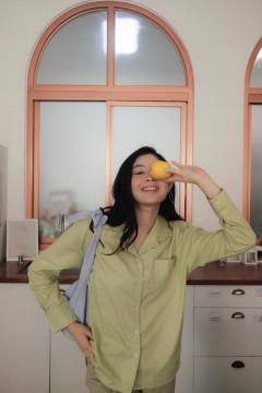 Lime Aera Shirt