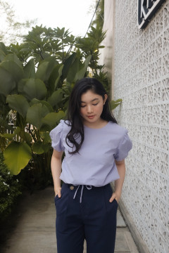 Lilac Ona Top