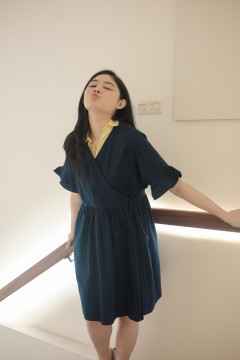 Navy Myung Dress