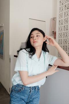 Cyan Hatta Shirt