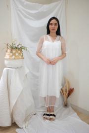 White Freya Dress