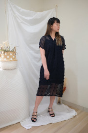 Navy Freya Dress