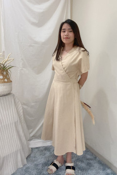 Latte Kimu Dress