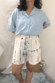 Blue Nui Casual Short