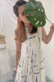 Blue Nui Resort Dress