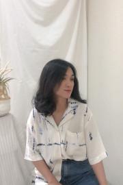 Blue Nui Hata Shirt