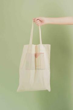Printed Yuan Tote Bag