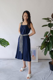 Navy Faye Dress