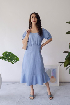 Sky Blue Phoebe Dress