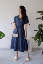 Navy Kimora Dress