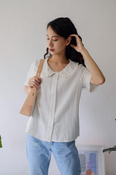 White Ailana Shirt