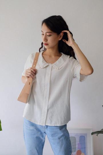 White Ailana Shirt