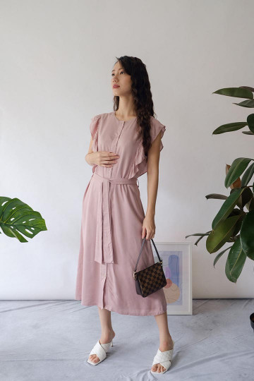 Mauve Claire Dress