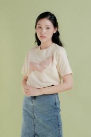 Cream Bean Tshirt