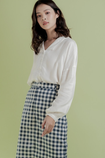 White Eun Ae Top