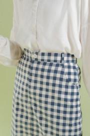 Gingham Somin Skirt