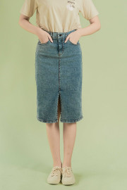Denim Somin Skirt
