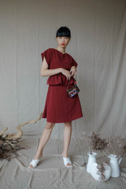 Sangria Kaia Dress