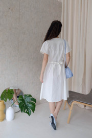 White Anabel Dress