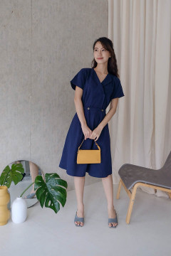 Navy Anabel Dress