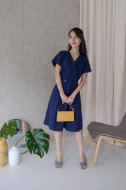 Navy Anabel Dress