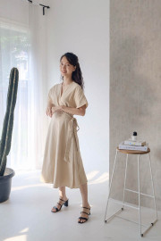 Latte Kimu Dress