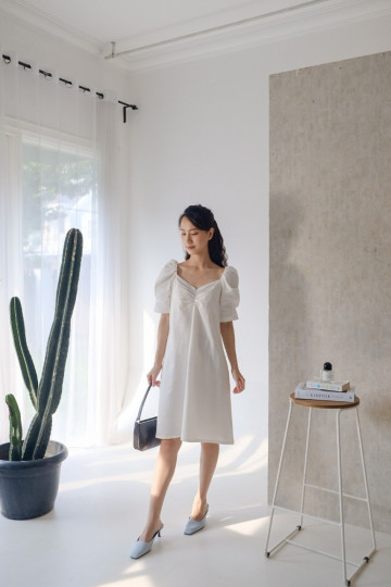 White Wilona Dress