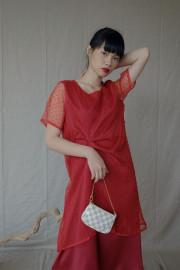 Sangria Wenling Dress