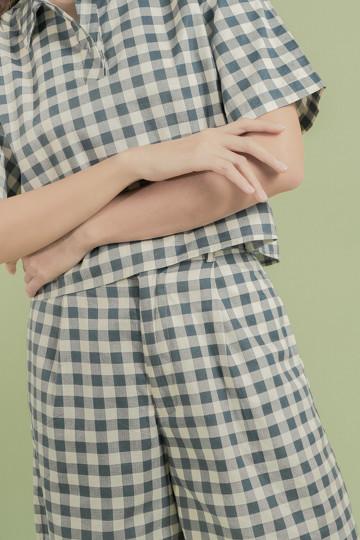 Gingham Bora Pants