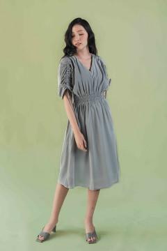 Charcoal Minji Dress